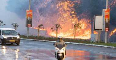 Techno of The Week: Video Ungkap Keanehan Kebakaran Israel hingga Bentuk Asli Bumi