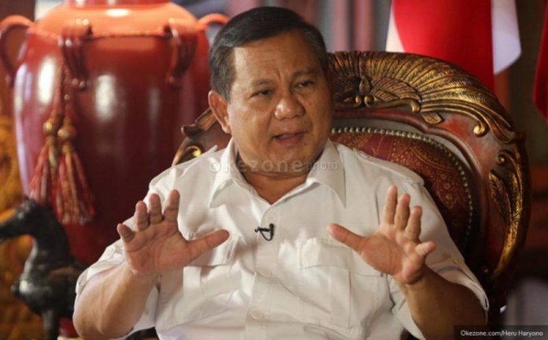 Prabowo Belum Yakin Aktivis yang Ditangkap Melakukan Makar