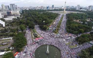 Opick: Jutaan Umat Datang ke Monas karena Cinta