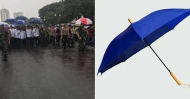 Payung Jokowi Jadi Trending Topic, Ini Komentar Putranya