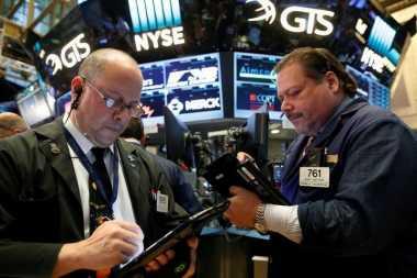 \Laporan Tenaga Kerja Tak Sesuai Ekspektasi, Wall Street Mixed\