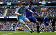 Manchester City Unggul 1-0 dari Chelsea di Babak Pertama
