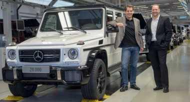 Ini Mercedes Benz G Class Produksi Ke-20 Ribu Unit