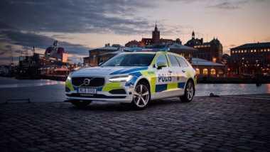 Volvo V90 Bakal Jadi Mobil Polisi