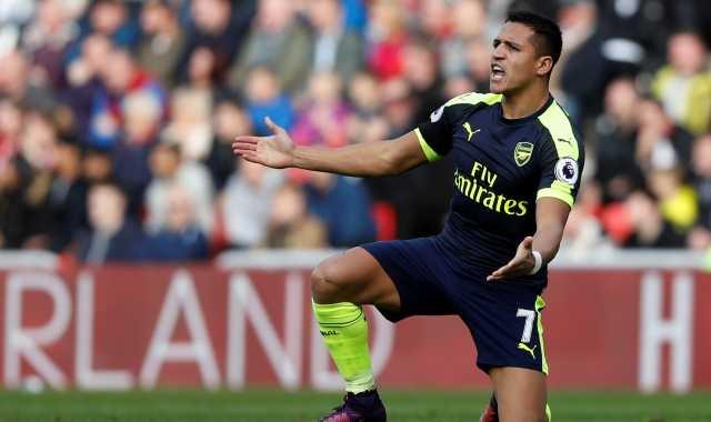 Sanchez Cetak Dwigol, Arsenal Kian Menjauh dari West Ham