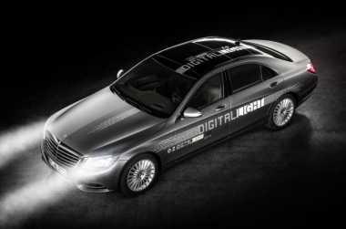 Mercedes Benz Kembangkan Lampu Mobil Antisilau