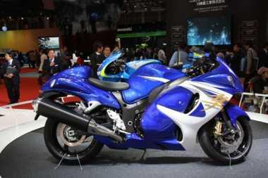 Generasi Terbaru Suzuki Hayabusa Kaya Fitur Elektronik Canggih