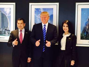 \Hary Tanoe Gandeng Trump, Pariwisata Indonesia Berpotensi Terangkat\