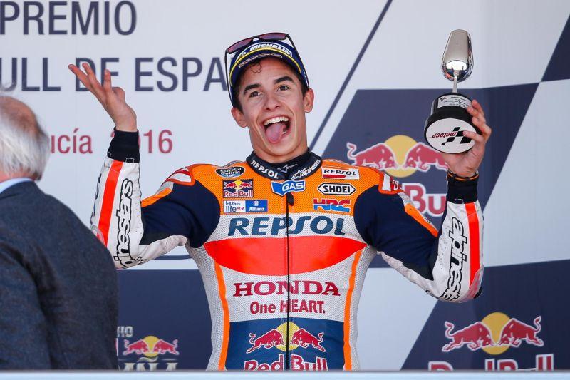 Marc Marquez Merasa Gelaran Honda Racing Thanks Day Sangat Positif