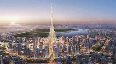 \Calon Menara Tertinggi di Dunia Jalani Tes Rekayasa Tanah\