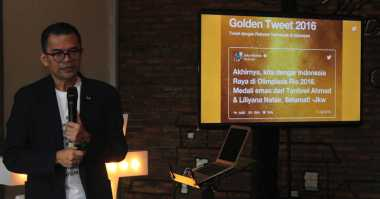 Ucapan Selamat Jokowi kepada Tontowi/Liliyana Raih Gelar Golden Tweet