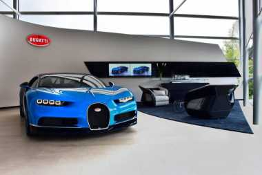 Selama 2017, Bugatti Penuhi 65 Unit Pesanan Chiron ke Konsumen