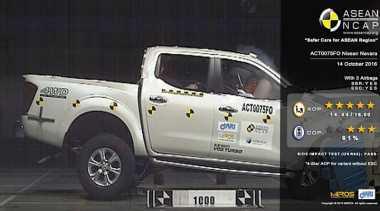 ASEAN NCAP Ungkap Hasil Uji Tabrak Navara dan Sienta
