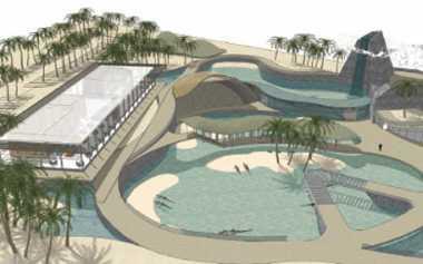 \Taman Buaya Pertama di Timur Tengah Rampung Tahun Depan\