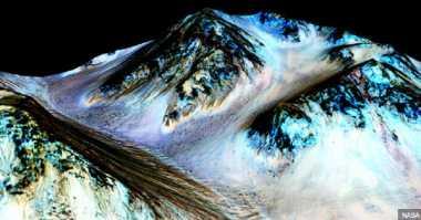 Mars Diklaim Pernah Menyimpan Air Selama Ratusan Juta Tahun