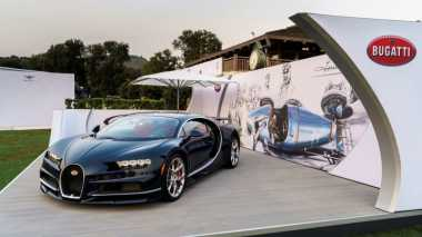 Pesanan Mencapai 220 Unit, Bugatti Gelar Test Drive Hypercar Chiron