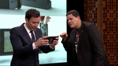 Jimmy Fallon Debutkan Nintendo Switch