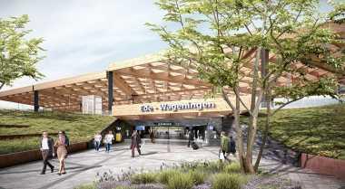 \Arsitek Ini Rancang Stasiun Kereta Anti Vandalisme\