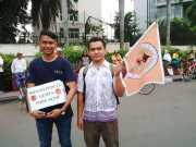 Sejumlah Komunitas Galang Dana untuk Korban Aceh di CFD