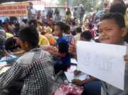 Lupakan Trauma, Ratusan Anak Korban Gempa Aceh Diajak Bermain Bersama