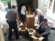 Polisi Sita 691 Botol Miras yang Siap Didistribusikan