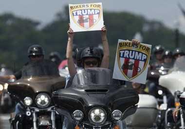 5.000 Bikers Siap Amankan Pelantikan Donald Trump