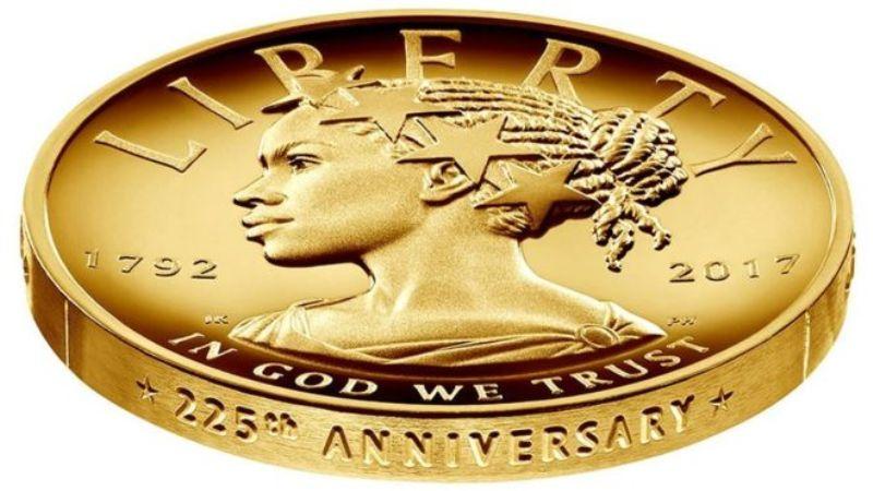 Koin Baru AS Tampilkan Lady Liberty Sebagai Perempuan Kulit Hitam