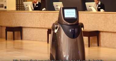 Robot Ini Dapat Menggantikan Peran Bellboy di Hotel