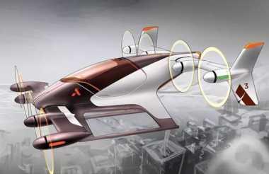 Mobil Terbang Airbus Mulai Dijajal pada Akhir 2017