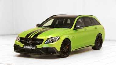 Brabus Dongkrak Tenaga Mercedes-AMG C63 S Jadi 640 Hp