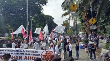 Massa Anti dan Pro Ahok Tak Seramai Sidang Sebelumnya