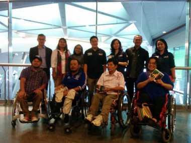 \MNC Securities dan BEI Rangkul Penyandang Disabilitas\