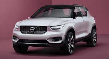 Bukan di Eropa, Crossover Volvo XC40 Justru Debut di China