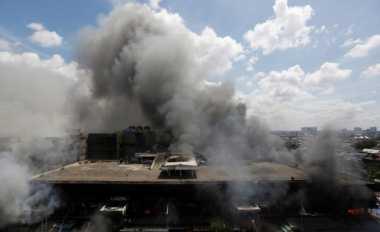 \TERPOPULER: PD Pasar Jaya Tak Kelola Pasar Senen yang Terbakar   \
