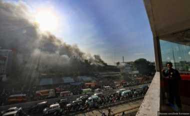 TOP BISNIS: Kebakaran di Pasar Senen hingga JP Morgan Ingin Rujuk dengan Kemenkeu