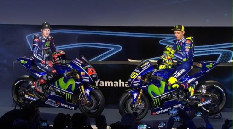 Yamaha Resmi Luncurkan Motor untuk MotoGP 2017