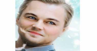 Lucunya Foto Leonardo DiCaprio Versi Anime