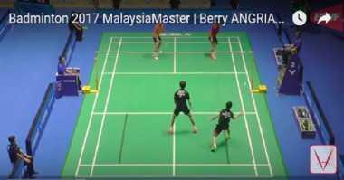 Lolos ke Semifinal, Pebulu Tangkis Berry Angriawan Viral