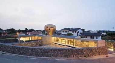 \Wind House di Pulau Jeju, Rumah Berbentuk Aneh tapi Menakjubkan\