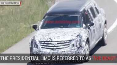 Mobil Presiden Donald Trump Pernah Tepergok Uji Jalan