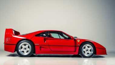 Ferrari F40 Klasik Milik Eric Clapton Dijual Murah
