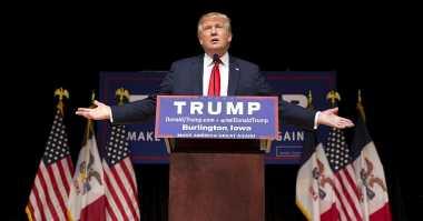 \Trump Toreh Penguatan Wall Street Terkuat Sepanjang Sejarah Pelantikan Presiden AS   \