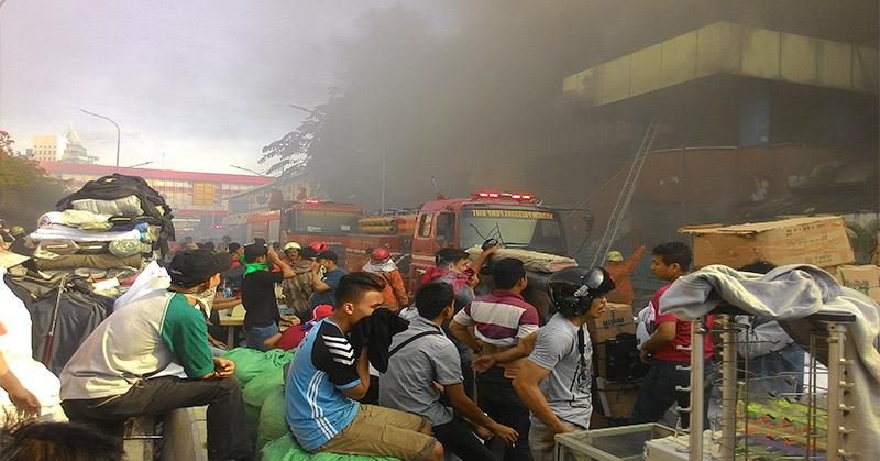 Usai Kebakaran, Bangunan Pasar Senen Harus Diaudit