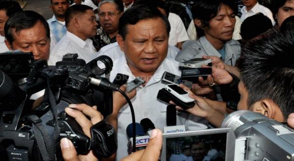 Prabowo Geram dengan Cagub DKI yang Manfaatkan Lembaga Survei