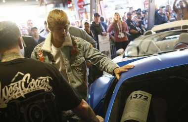 Terjual, Mobil Ferrari Justin Bieber Laku Rp5,8 Miliar