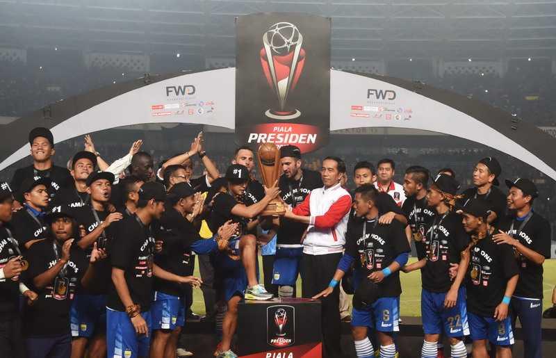Persib Tunggu Surat Resmi Jadi Tuan Rumah Piala Presiden 2017