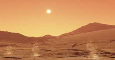 Ilmuwan Buktikan Mikroba Bisa Bertahan Hidup di Mars