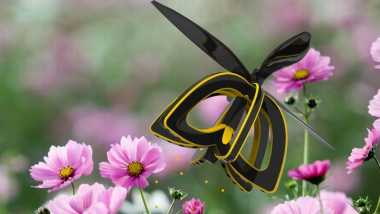 Drone Lebah Ini Berfungsi Melakukan Penyerbukan Bunga