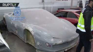 Jual Ferrari Murah, Produsen Supercar Palsu Digerebek Polisi