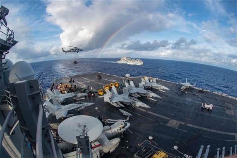 AS Kerahkan Kapal Induk ke Laut China Selatan